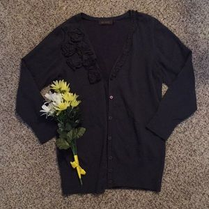 Like New The Limited Button Down Sweater